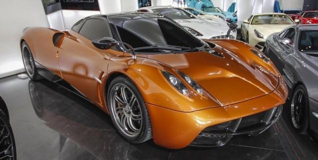 orange pagani huayra for sale in dubai | motory saudi arabia