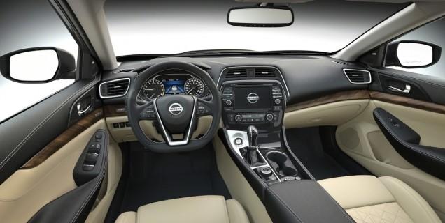 2016 Maxima Interior >> Nissan Maxima Named To 2016 Wards 10 Best Interior List Motory