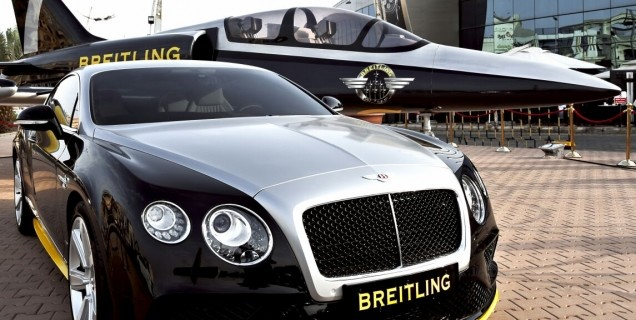 Breitling Legendary Plane Hits Tahlia Street Combined Luxury