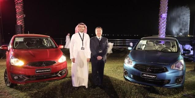 Alesayi Motors Launch Mitsubishi Attrage The New Motory Saudi Arabia
