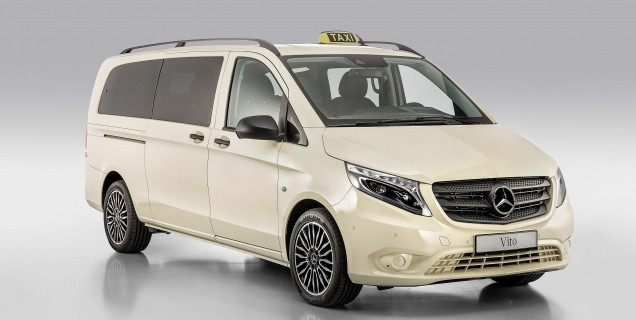 mercedes-benz vito: the perfect taxi for modern cities | motory