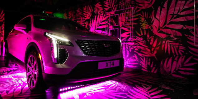 Cadillac Reveals First Ever Cadillac Xt4 In The Middle East Motory