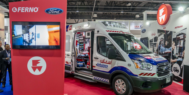 aa7157547b Ford Transit Tops Priority For Middle East Ambulance Operators ...