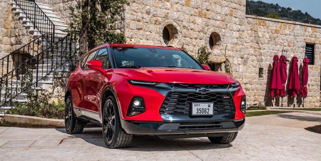All New 2019 Chevrolet Blazer Return Of A Legend Motory Saudi Arabia