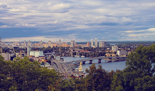 Вид на Киев лучшие районы для квартиры