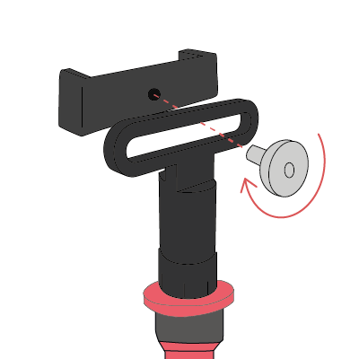 Nodalview attach mount