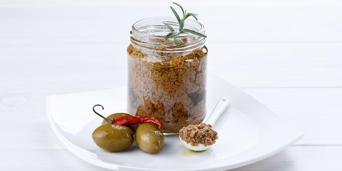 Paté de aceitunas u olivada