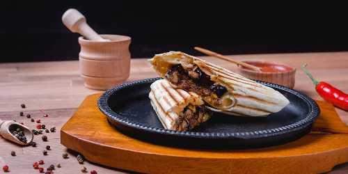 Burritos de garbanzos y soja