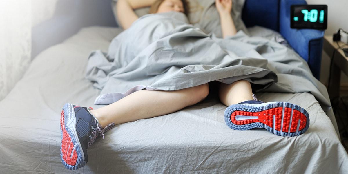 Cenar y hacer ejercicio antes de dormir