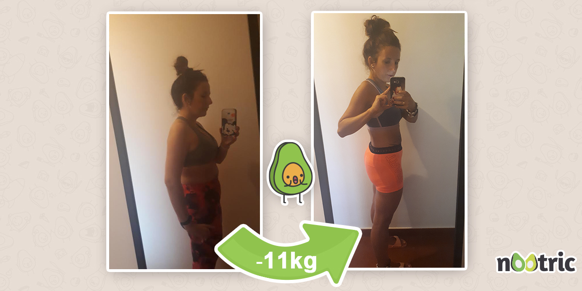 ¡11 kilos menos! Lorena nos cuenta su historia de éxito con Nootric