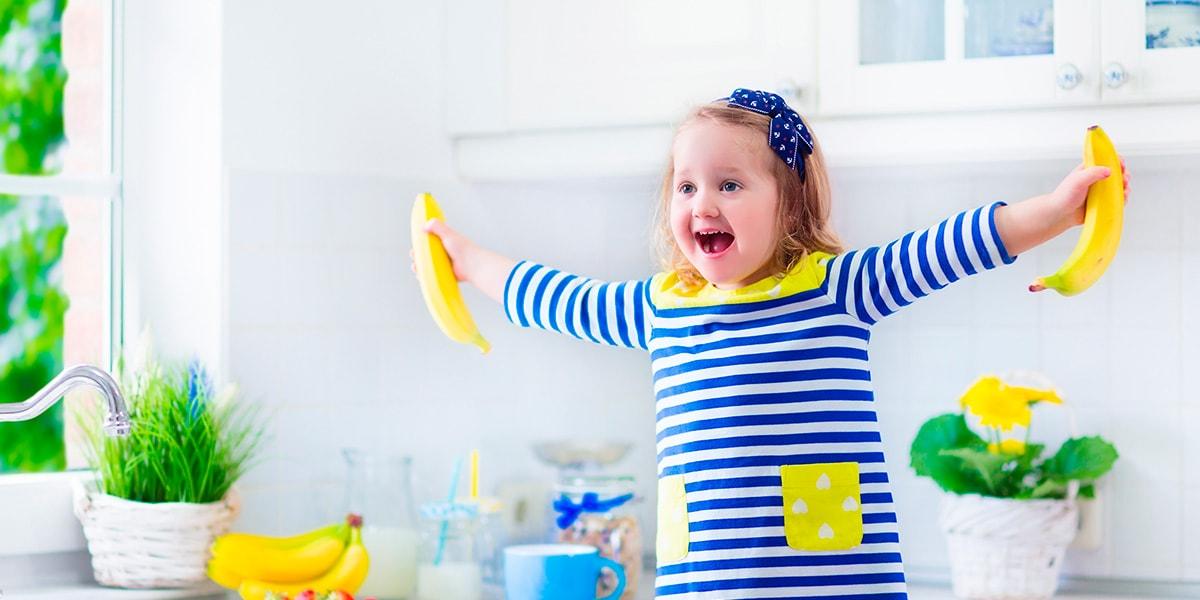 5 meriendas saludables para los más pequeños