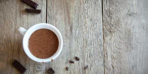 Chocolate puro a la taza
