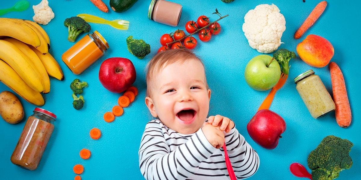 4 cosas básicas en la alimentación infantil