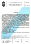 ČES 330298 doporučení ČES 33.02.98 - Podmínky použití nadproudových jistících prvků při ochraně odpojením od zdroje dle ČSN 33 2000-4-41