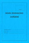 Deník zdvihacího zařízení (modrý) Deník zvihacího zařízení (dle ČSN ISO 12480-1) obsahuje následující informace: - typ zdvihacího zařízení, jeho evidenční číslo a výrobní číslo - seznam pracovníků pověřených obsluhou, jméno zodpovědného pracovníka - záznamy o provozu zdvihacího zařízení - záznamy o závadách a mimořádných událostech - záznamy o provedených opravách, údržbě, čištění a kontrolách
