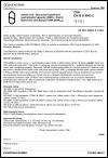 ČSN EN ISO 9963-2 Jakost vod. Stanovení kyselinové neutralizační kapacity (KNK). Část 2: Stanovení KNK (KNK5,4)