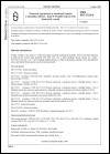 ČSN ISO 5725-6 Přesnost (správnost a shodnost) metod a výsledků měření. Část 6: Použití hodnot měr přesnosti v praxi