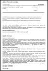 ČSN EN 16516 Stavební výrobky - Posuzování uvolňování nebezpečných látek - Stanovení emisí do vnitřního ovzduší
