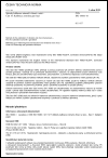ČSN ISO 16063-16 Metody kalibrace snímačů vibrací a rázů - Část 16: Kalibrace zemskou gravitací