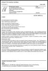 ČSN EN 60819-3-2 Necelulózové papíry pro elektrotechnické účely - Část 3: Specifikace jednotlivých materiálů - List 2: Hybridní anorganicko-organický papír