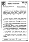 ČSN 08 5020 Uvádění do chodu, provoz a údržba vodních turbín