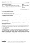 ČSN EN 60684-3-209 ed. 2 Ohebné izolační trubičky - Část 3: Specifikace jednotlivých typů trubiček - List 209: Polyolefinové teplem smrštitelné trubičky pro všeobecné použití, odolné ohni