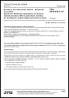 ČSN EN 61076-2-107 Konektory pro elektronická zařízení - Požadavky na výrobek - Část 2-107: Předmětová specifikace pro kruhové hybridní konektory M12 s elektrickými kontakty a s kontakty pro optická vlákna se závitovou aretací