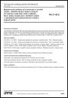 TNI 27 4012 Bezpečnostní předpisy pro konstrukci a montáž výtahů - Zvláštní úpravy výtahů určených pro dopravu osob nebo osob a nákladů - Nové výtahy instalované v šachtách výtahů s nedostatečnými bezpečnostními rozměry krajních poloh