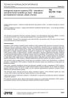 TNI ISO/TR 17384 Inteligentní dopravní systémy (ITS) - Interaktivní centrálně řízené navádění po trase - Sada zpráv pro bezdrátové rozhraní, obsah a formát