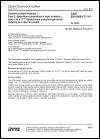 ČSN EN 60684-3-116 Ohebné izolační trubičky - Část 3: Specifikace jednotlivých typů trubiček - Listy 116 a 117: Vytlačované polychloroprenové trubičky pro obecné použití