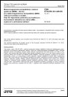 ČSN ETSI EN 301 489-50 V1.2.1 Elektromagnetická kompatibilita a rádiové spektrum (ERM) - Norma pro elektromagnetickou kompatibilitu (EMC) rádiových zařízení a služeb - Část 50: Specifické podmínky pro buňkovou komunikační základnovou stanici (BS), opakovač a přidružené zařízení