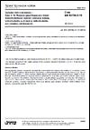 ČSN EN 60794-5-10 Optické vláknové kabely - Část 5-10: Rodová specifikace pro vnější mikrotrubičkové optické vláknové kabely, mikrotrubičky a chráněné mikrotrubičky pro instalaci zafukováním