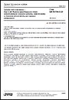 ČSN EN 60794-5-20 Optické vláknové kabely - Část 5-20: Rodová specifikace pro vnější mikrotrubičkové vláknové jednotky, mikrotrubičky a chráněné mikrotrubičky pro instalaci zafukováním