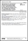 ČSN EN 61557-15 Elektrická bezpečnost v nízkonapěťových rozvodných sítích se střídavým napětím do 1 000 V a se stejnosměrným napětím do 1 500 V - Zařízení ke zkoušení, měření nebo sledování činnosti prostředků ochrany - Část 15: Požadavky funkční bezpečnosti pro zařízení sledující izolaci a pro zařízení pro nalezení poruchy izolace v sítích IT