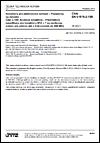 ČSN EN 61076-2-109 Konektory pro elektronická zařízení - Požadavky na výrobky - Část 2-109: Kruhové konektory - Předmětová specifikace pro konektory M12 × 1 se závitovou aretací pro přenos dat s frekvencemi do 500 MHz