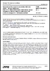 ČSN EN 61753-031-3 ed. 2 Spojovací prvky a pasivní součástky vláknové optiky - Norma funkčnosti - Část 031-3: Nekonektorované jednovidové vlnově neselektivní optické vláknové odbočnice 1xN a 2xN pro kategorii U - Neřízené prostředí
