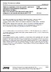 ČSN EN 50411-2-10 Vláknové organizéry a krytí pro použití v optických vláknových komunikačních systémech - Specifikace výrobku - Část 2-10: Těsněné krytí vláknových spojů typu 2, kategorie G, pro optické distribuční sítě FTTH