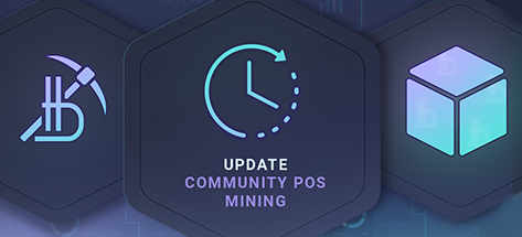 Update on the Launch of Community PoS Mining in the Bitbon System