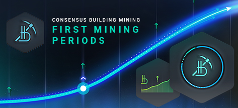 Launch of Consensus Building Mining in the Bitbon System. First Mining Periods
