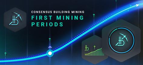 Порядок запуска Майнинга обеспечения консенсуса в Системе Bitbon. Первые майнинговые периоды