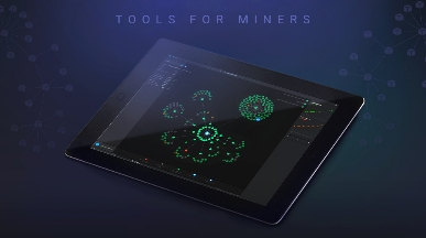 Mining Pool Virtual Modeling Application