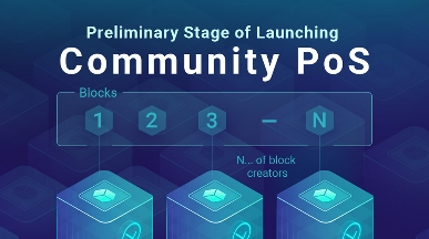Preliminary Stage of Launching Community PoS
