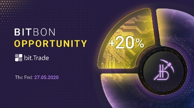 The Offer of 20% Bonus Bitbons from the Bit Trade Exchange Is Coming to an End!