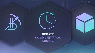 Уточнение даты запуска Майнинга Community PoS в Системе Bitbon