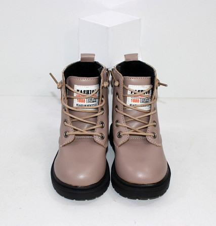 Ботинки для девочек с карманчиком Код: 111830 (21XD-1) Запоріжжя - зображення 6