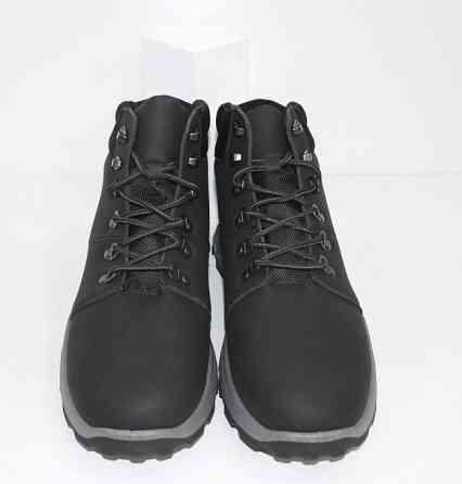 Осенние мужские ботинки на шнурках Код: 111798 (20-855-black) Запоріжжя