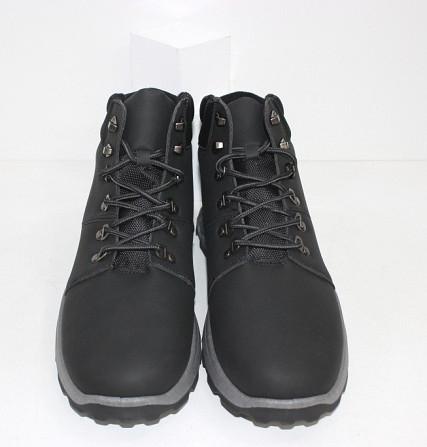 Осенние мужские ботинки на шнурках Код: 111798 (20-855-black) Запоріжжя - зображення 4