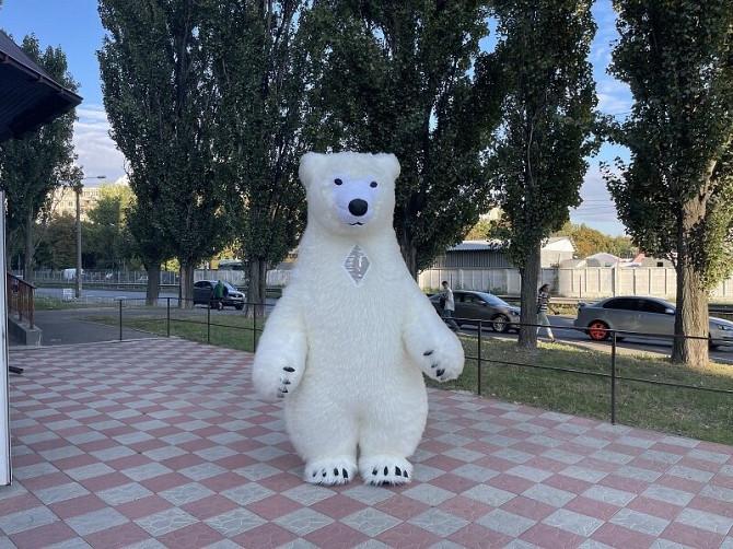 Начните продвижение с надувным костюмом белого медведя Київ - зображення 8