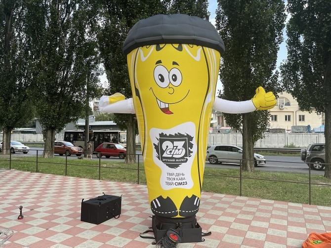 Надувные человечки – надежный рекламный инструмент Київ - зображення 6