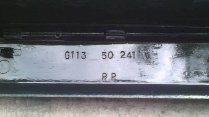 Накладка заднього бампера G113 50 241 Мазда 626 86р.в. оригінал Вінниця - зображення 3